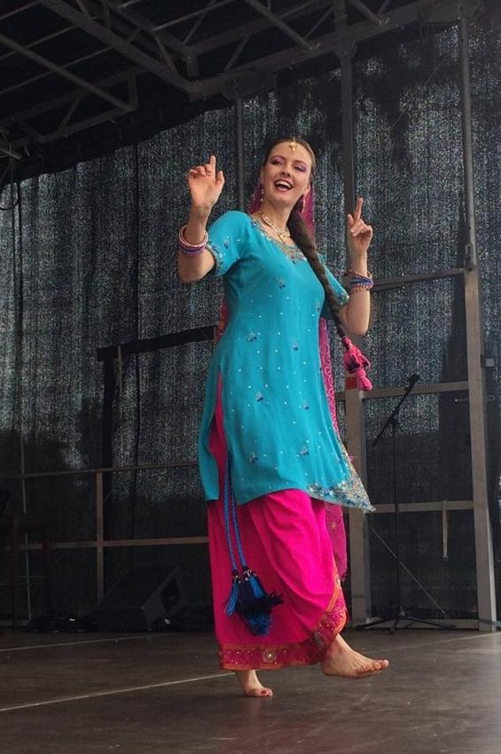 Tanz aus der pakistanischen Provinz Punjab