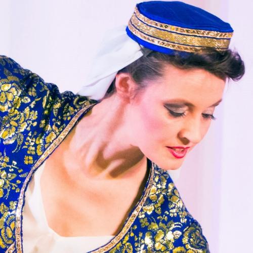 Hanan Kadur beim Arabisch-Andalusischer Tanz